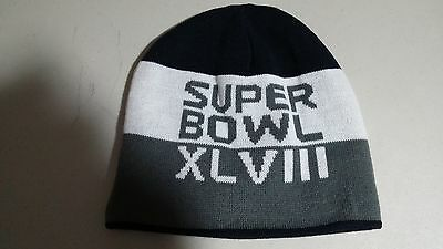 Super Bowl Winter Hat Xlviii New Item  Reversible