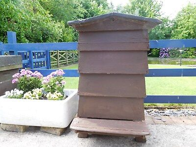 National Bee Hive (used) with Hive Stand in very good condition.