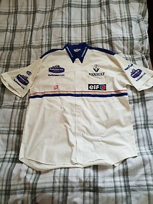 100% GENUINE 1990's L Williams F1 Team Issue shirt