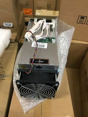 Bitmain Antminer S9 14TH/s Bitcoin Miner+ power supply and pwr cord. Crypto disc