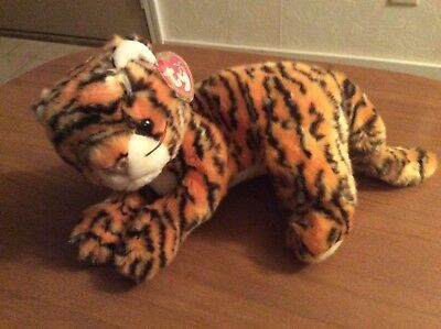 TY BEANIE BABY BUDDY. India the tiger. Retired 2001. 14