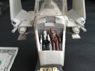 Star Wars Action Fleet Imperial Shuttle with Stand and Han and Chowie