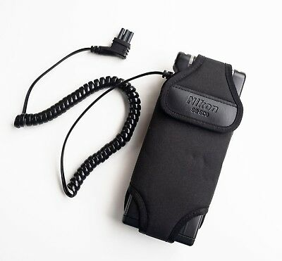 Nikon SD-9 Battery pack with SS-SD9 Case for Nikon Speedlights