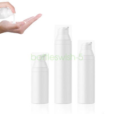 Airless 30ml 50ml 75ml Weiß Airlessspender Lotion Spender Pumpspender Flasche