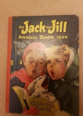 Vintage Jack and Jill Annual Book 1958