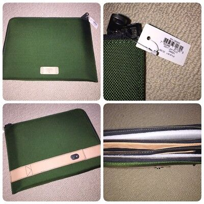 Men's Green Fossil Portfolio NEW $90 NWT Father's Day gift!!!