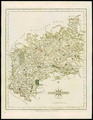 Art Prints Original Outline Colour 1793 Great Varieties Fast Deliver Antique County Map Of Wiltshire By John Cary Art