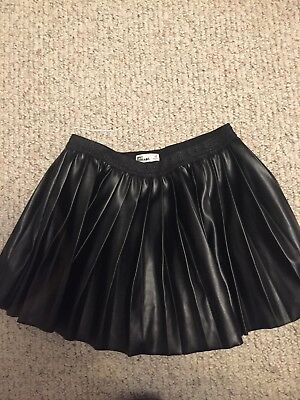 "girls epic threads skirt ""faux leather"" size medium"
