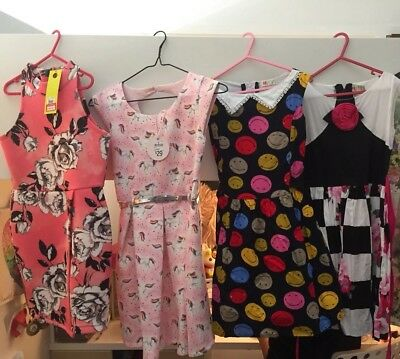 Bulk Lot Of Girls Dresses Size 8-9 Some Bnwt Chino Kids Target