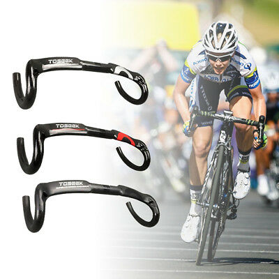 UP Carbon Bike Handlebar Road Bicycle Drop Bar 31.8 400//420//440mm Brand New