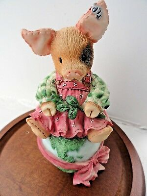 """This Little Piggy """"Mary"""" *LET THERE BE PIGS ON EARTH*! BY ENESCO 1995 Cute"""