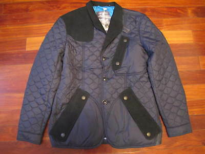 Auth New Barbour X White Mountaineering  Quilted Stitch Jacket Mens Sz M