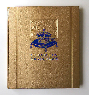 Coronation Souvenir book 1937.