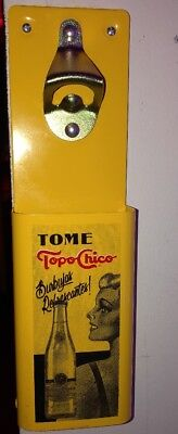 Topo Chico Mineral Water - Agua Mineral Bottle Opener / Bar Decoration