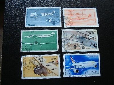 FRANCE - stamp yvert and tellier air n° 57 58 60 a 63 obl (A12)