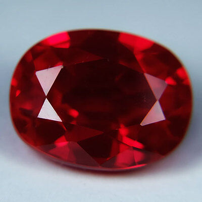 12.70ct.AWESOME BLOOD RED RUBY OVAL LOOSE GEMSTONE