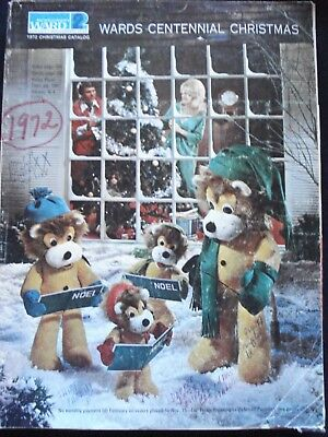 1972 MONTGOMERY WARD  WISHBOOK  '72 CHRISTMAS CATALOG  WARDS Good Condition