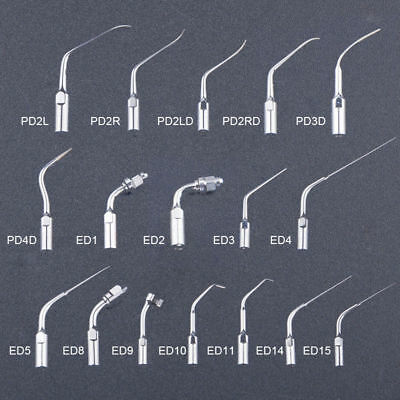Dental Ultrasonic Scaler Scaling Endo Perio Tip Fit DTE/SATELEC Handpiece P E G
