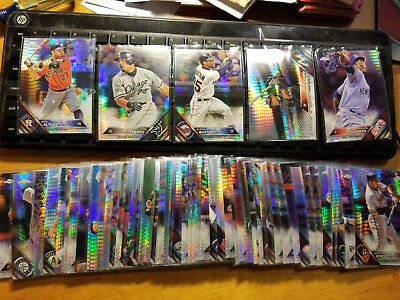 2016 Topps Chrome Prism Refractors Fill Your Set you pick choice 3.33 flat ship