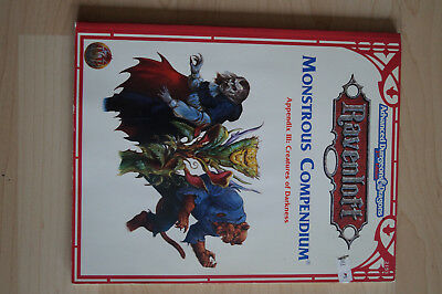 AD&D 2nd. Ravenloft Monstrous Compendium Appendix III Creatures of Darkness