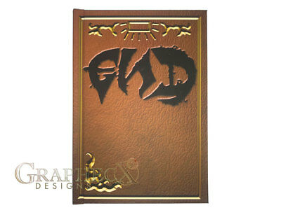 END E.N.D. Tome Fairy Tail Book of Zeref inspired hardcover journal notebook