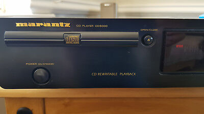 Marantz CD5000 T2B CD player and Remote w/ cd text and cdrw playback _USED_