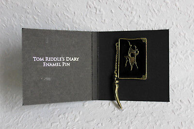 Harry Potter - Tom Riddle Tagebuch diary Enamel Pin LOOT CRATE Exclusive