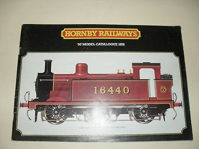 hornby railways r280 catalouge edition 24 1978 72 pages
