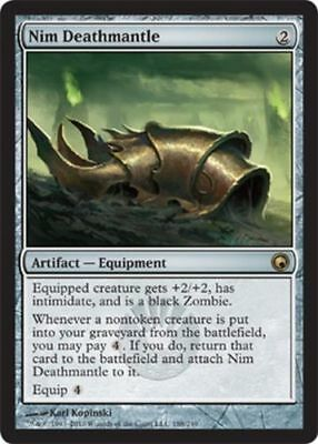 1x NIM DEATHMANTLE - Rare - Scars of Mirrodin - MTG - NM - Magic the Gathering
