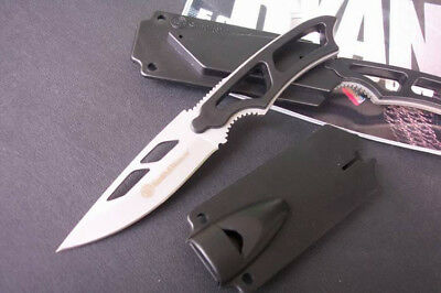 SW990 Fixed Blade Fishing Camping Survival Tactical Hunting Knife with Whistle