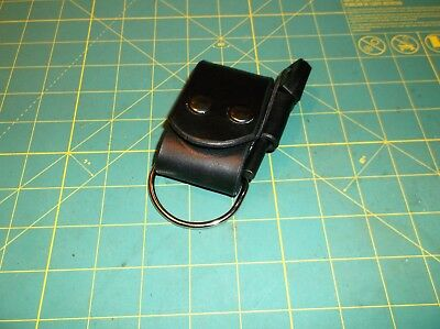 "New Leather Belt Strap Knife Sheath Dangler, Belt Accessory ,2"" D RingFerro Rod"