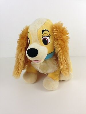 Disney Store Exclusive Lady From Lady And The Tramp Soft Toy