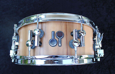 Sonor SQ2 american walnut finish snare 14x6,5