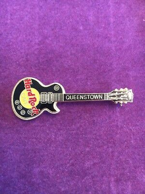 Hard Rock Cafe Guitar Pin Queenstown