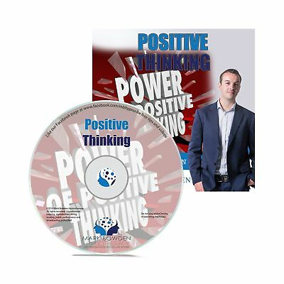 Positive Thinking Self Hypnosis CD - Hypnotherapy CD to Overcome Automatic Ne...
