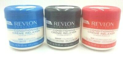 REVLON CONDITIONING CREME RELAXER NO BASE FORMULA /REGULAR /SUPER / MILD 15oz