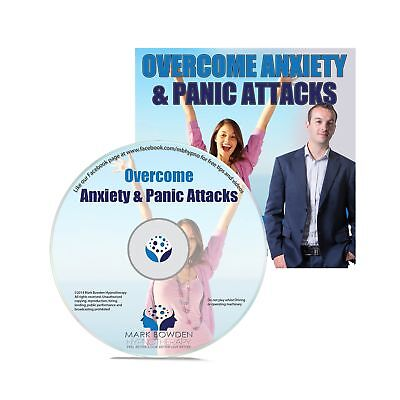 Overcome Anxiety and Panic Attacks Self Hypnosis CD. Hypnotherapy CD for Anxi...