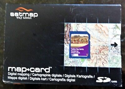 satmap kart SATMAP CUSTOMISED SD Map Card of PEAK DISTRICT 1:25k/1:50k  satmap kart