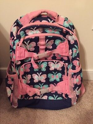POTTERY BARN KIDS Backpack Size Large Butterflies - $9.95 | PicClick