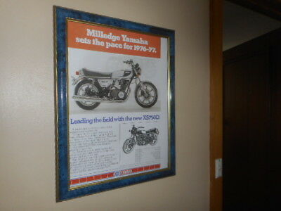 Yamaha XS750D 1976-7 model Picture / Poster