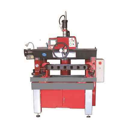 Valve seat boring machine.