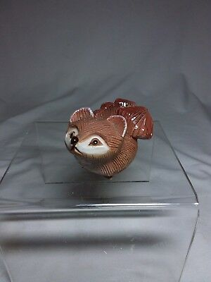 An Adorable and Sweet Little Red Fox Handmade and Signed on Bottom Great Detail