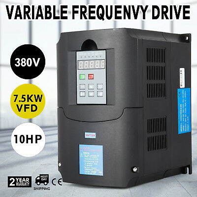 10Hp 7.5KW 380V Variable Frequency Drive VFD 3 Phase Inverter perfect motor