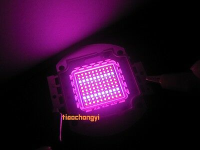 100W High Power LED Chip Plant Growing Hydroponic Red Blue 4:1 450nm 660nm DIY