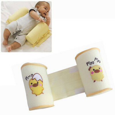 New Baby Safe Anti Roll Pillow Sleep Positioner Protector New Adjustable
