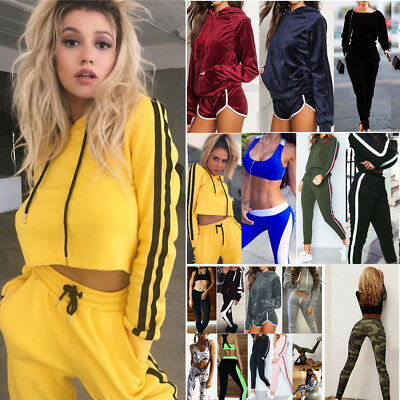 Women Athleisure Fitness Leggings Running Gym Stretch Sports Pants Trousers Lot