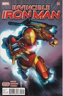 MARVEL Invincible Iron Man (2015 2nd Series) #2A- NM