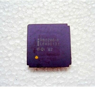 Anique Old CPU INTEL R80286-8 for Collection