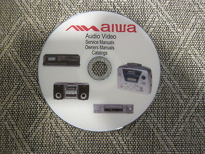 AIWA AUDIO VIDEO Repair Service Owners manuals and Schematics dvd 1 of 3