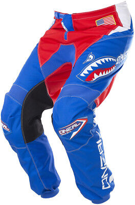 O'Neal Afterburner Pants 38 Blue/Red 0128-868